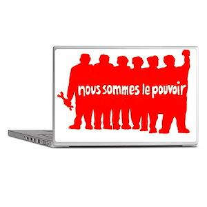 ART Paris 68 pouvoir Laptop Skins