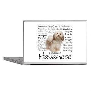 Havanese Traits Laptop Skins