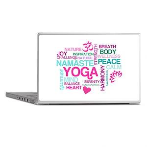 Yoga Inspirations Laptop Skins