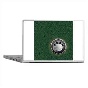 Golf Cup and Ball Laptop Skins