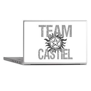 Team Castiel Laptop Skins