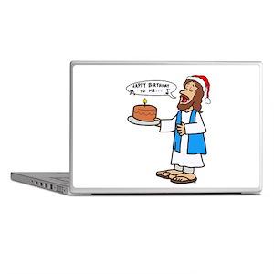 Happy Birthday Jesus Christmas Laptop Skins