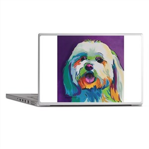 Dash the Pop Art Dog Laptop Skins