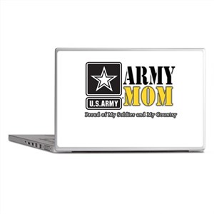 Army Mom Proud Laptop Skins