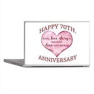 70th. Anniversary Laptop Skins
