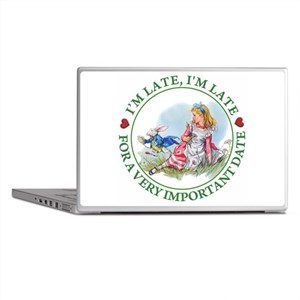 I'm Late , I'm Late, For a Very Impor Laptop Skins
