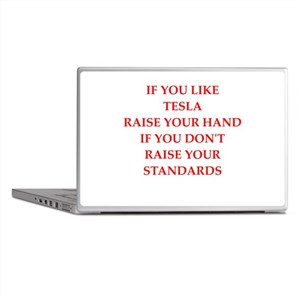 tesla Laptop Skins