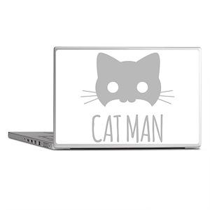 Cat Man Laptop Skins