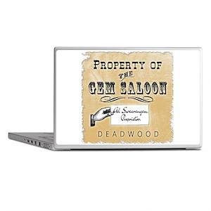 Gem Saloon Deadwood Laptop Skins