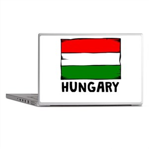 Hungary Flag Laptop Skins