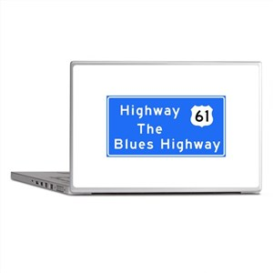 The Blues Highway 61, TN & MS Laptop Skins