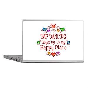Tap Dancing Happy Place Laptop Skins