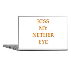 kiss my nether eye Laptop Skins