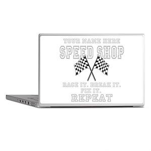 Racing Speed Shop Laptop Skins