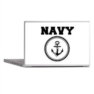 Navy Laptop Skins