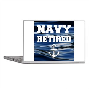 Navy Retired Laptop Skins