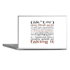 Actor (ak'ter) Meaning Laptop Skins