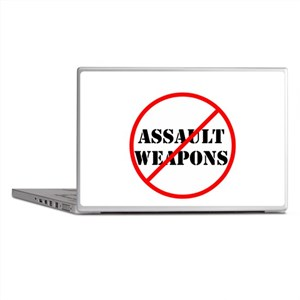 No assault weapons, gun control Laptop Skins