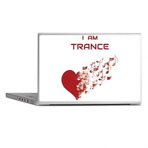 I am Trance Heart Laptop Skins