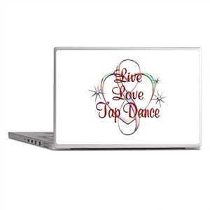 Live Love Tap Dance Laptop Skins