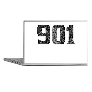901 Memphis Area Code Laptop Skins