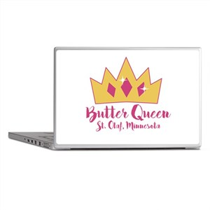 St Olaf Butter Queen Laptop Skins