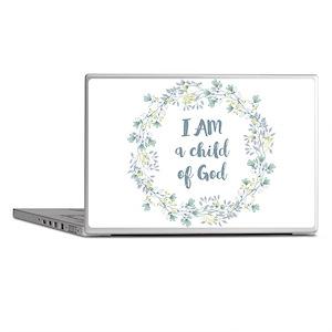 I AM a child of God Laptop Skins