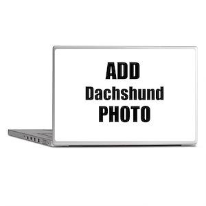 Add Dachshund Photo Laptop Skins