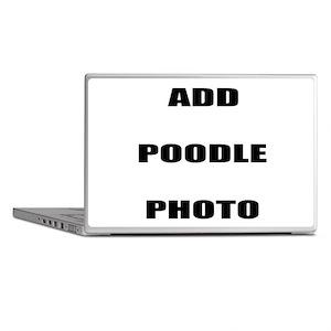 Add Poodle Photo Laptop Skins