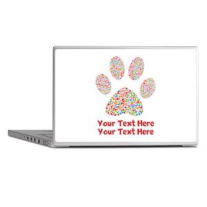 Dog Paw Print Customize Laptop Skins