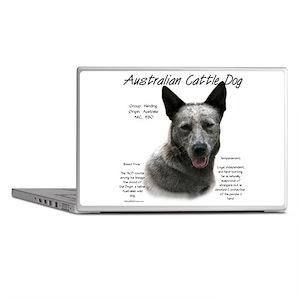Cattle Dog (blue) Laptop Skins