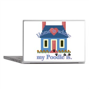 Poodle Lovers Gifts Laptop Skins