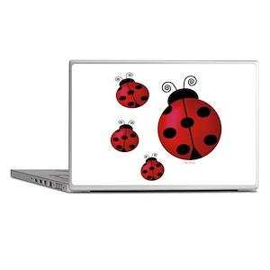 Four Ladybugs Laptop Skins