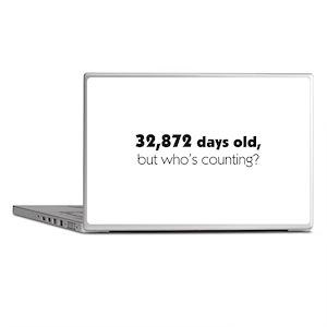 90th Birthday Laptop Skins