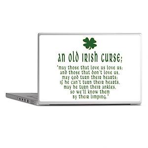 An Old irish curse Laptop Skins