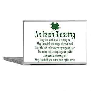 Irish Blessing Laptop Skins