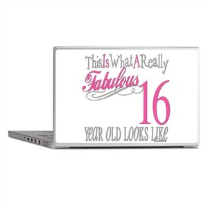 16th Birthday Gifts Laptop Skins