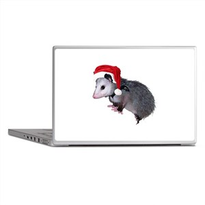 Santa Possum Laptop Skins