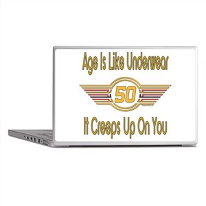 Funny 50th Birthday Laptop Skins