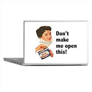 Can of Whoop-Ass Laptop Skins