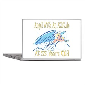 Angel Attitude 55th Laptop Skins