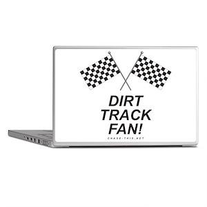 Checker Flag Dirt Laptop Skins