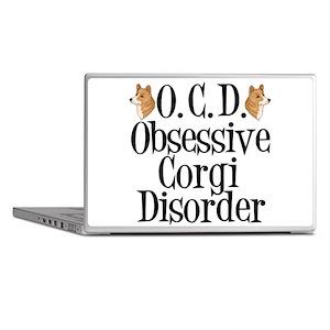 Corgi Obsessed Laptop Skins