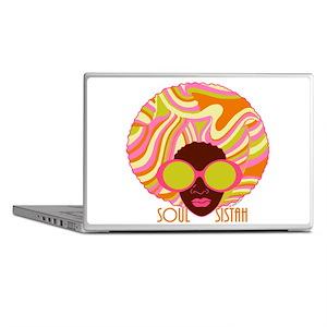 Soul Sistah Brown Laptop Skins