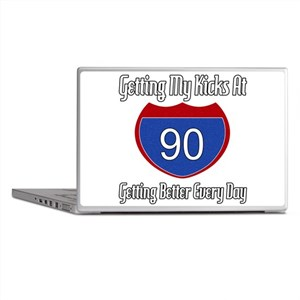 90th Birthday Laptop Skins