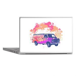 Retro Hippie Van Grunge Style Laptop Skins