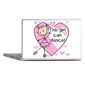 This Girl Can Dance Laptop Skins