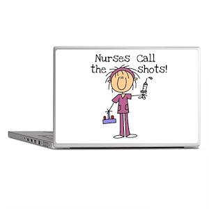 Nurses Call the Shots Laptop Skins