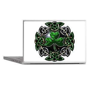 St. Patrick's Day Celtic Knot Laptop Skins