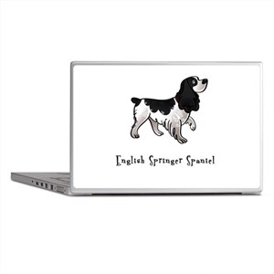 English Springer Spaniel Illu Laptop Skins